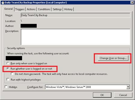 Scheduling TeamCity backups in Windows - Doug Rathbone
