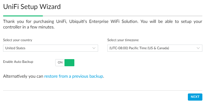 Migrating a Ubiquiti Unifi Controller to run on a Raspberry