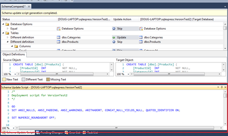 Visual Studio's Best Kept Secret – Compare & Update Database
