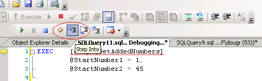 Debugging SQL Queries, Functions, & Stored Procedures with SQL